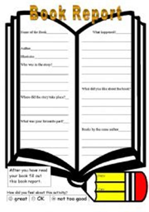 Book it book report forms